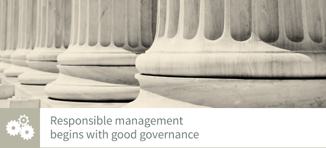 Corporate governance banner image